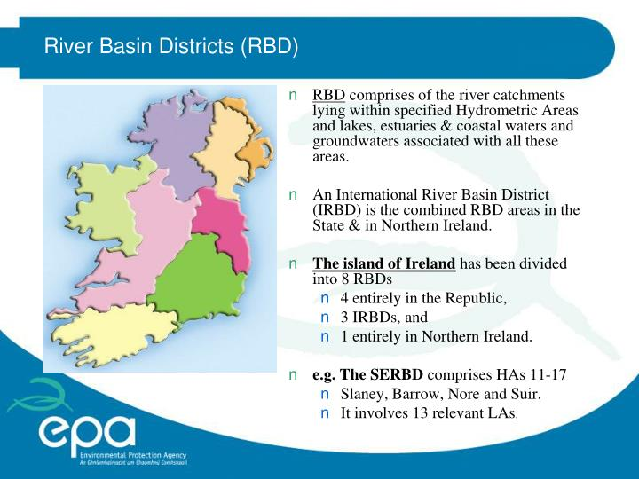 River Basin Districts (RBD)