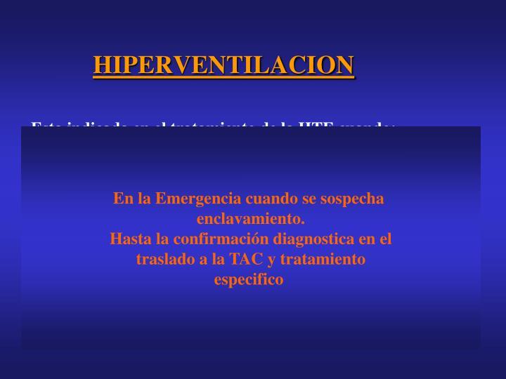 HIPERVENTILACION