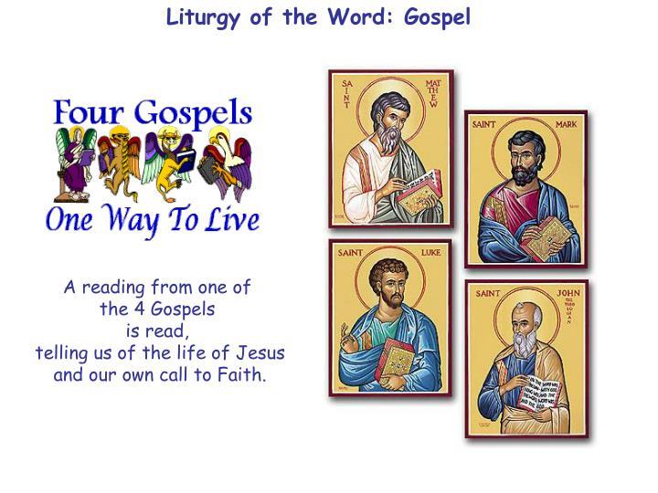 Liturgy of the Word: Gospel