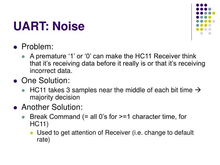UART: Noise