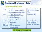 measuring environmental success meaningful indicators data