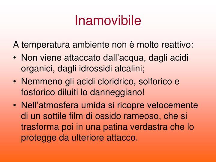 Inamovibile