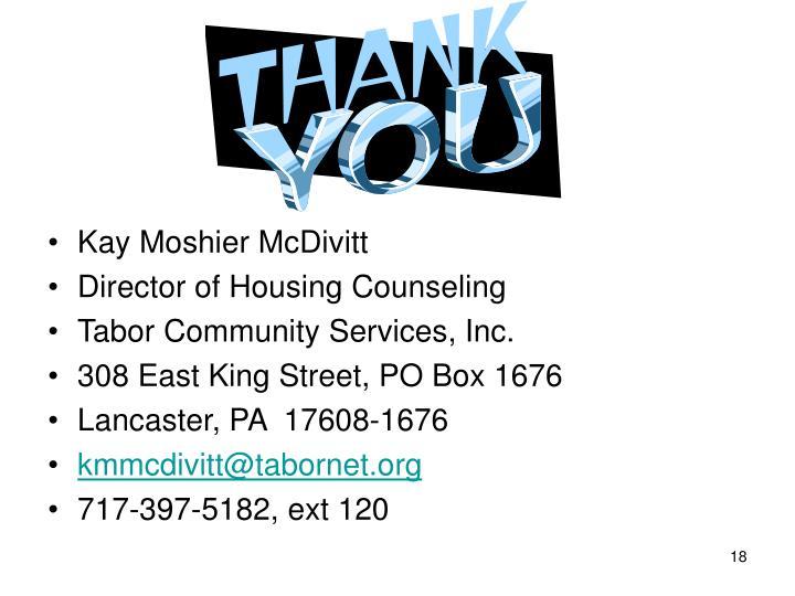 Kay Moshier McDivitt