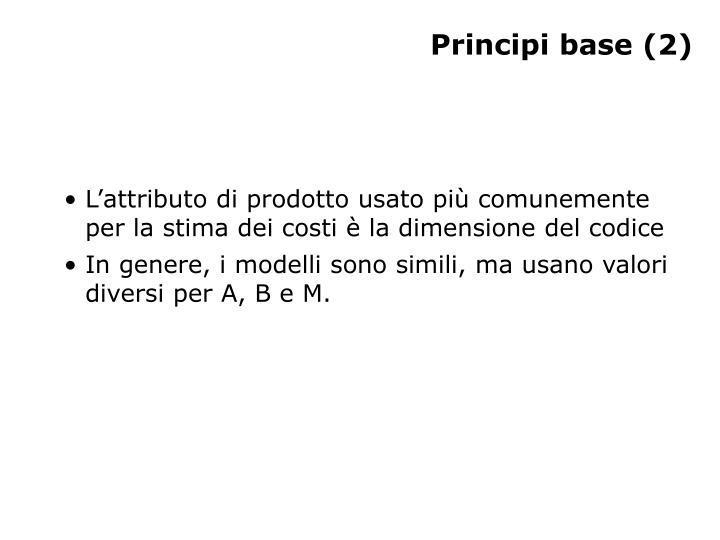 Principi base (2)