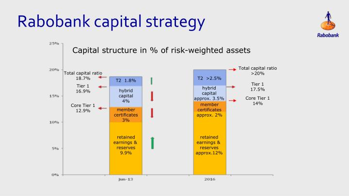 Rabobank capital strategy