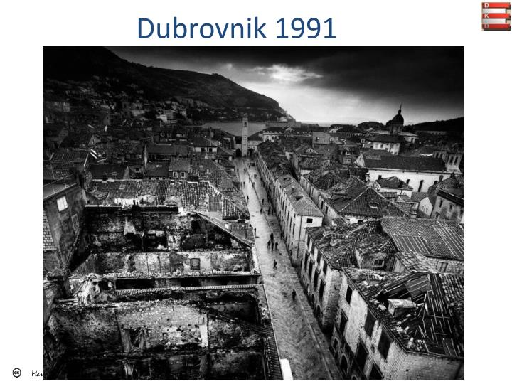 Dubrovnik 1991