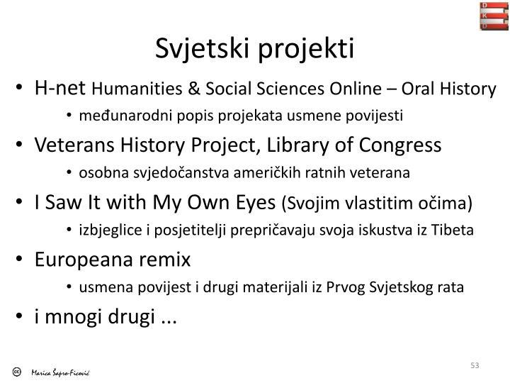 Svjetski projekti