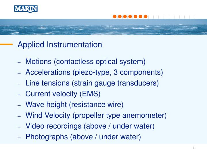 Applied Instrumentation
