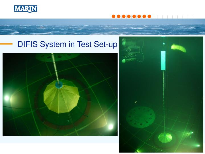DIFIS System in Test Set-up
