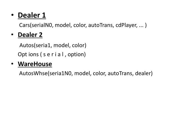 Dealer 1