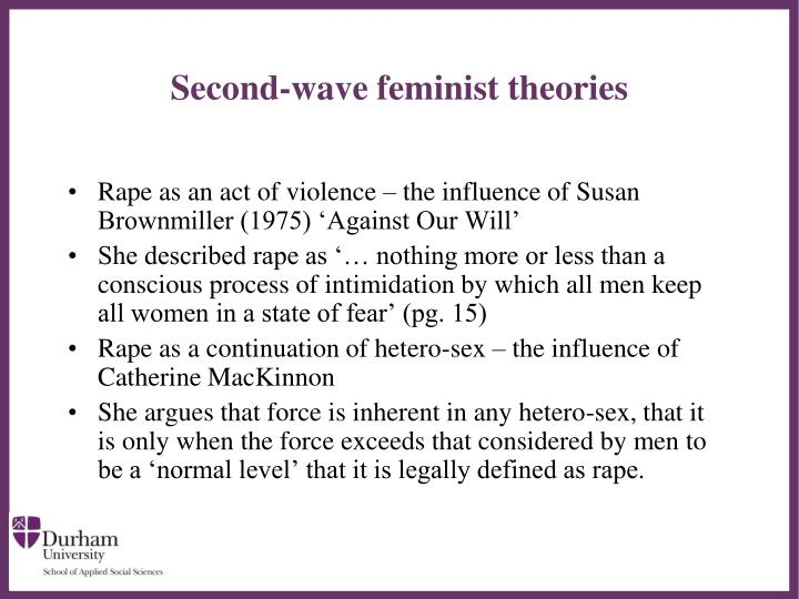 Second-wave feminist theories