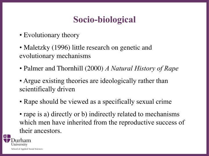Socio-biological