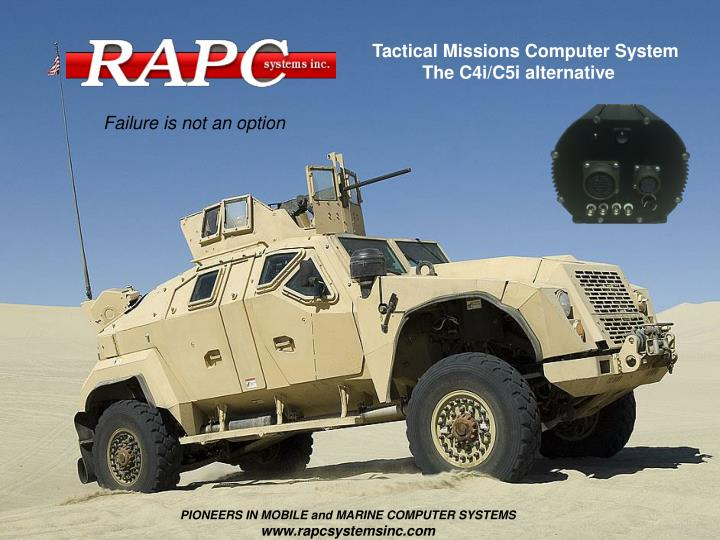 Tactical Missions Computer System