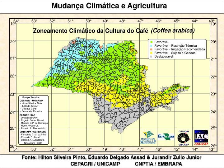 Mudança Climática e Agricultura