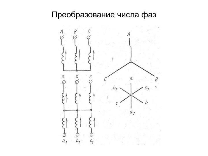 Преобразование числа фаз