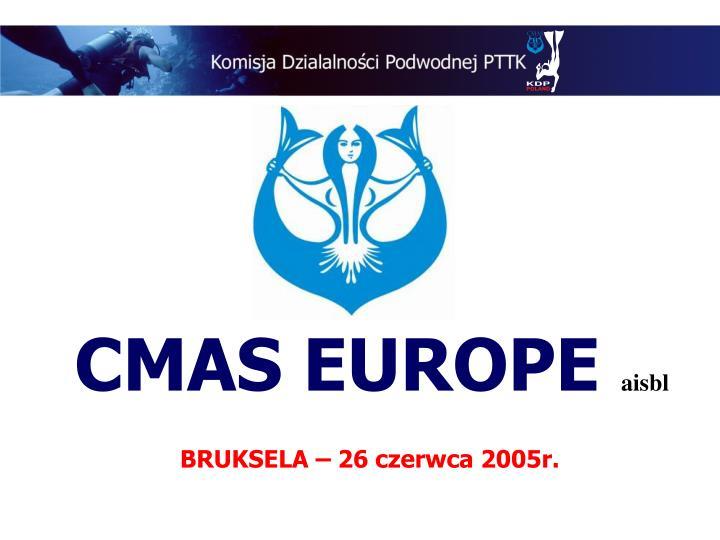 CMAS EUROPE