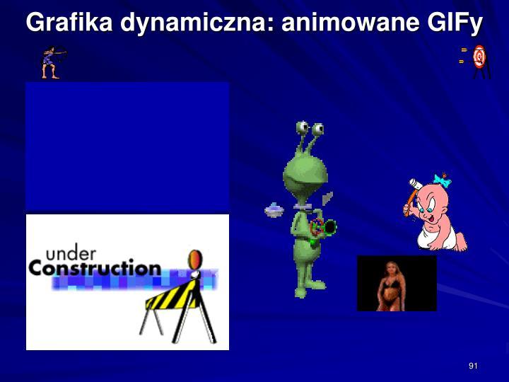 Grafika dynamiczna: animowane GIFy
