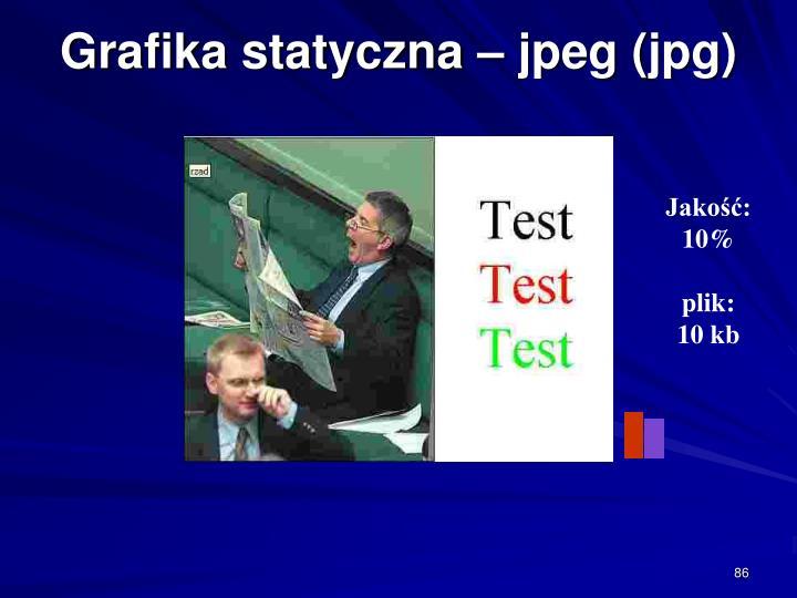 Grafika statyczna – jpeg (jpg)