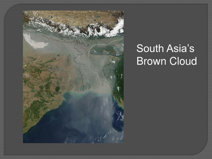 South Asia's