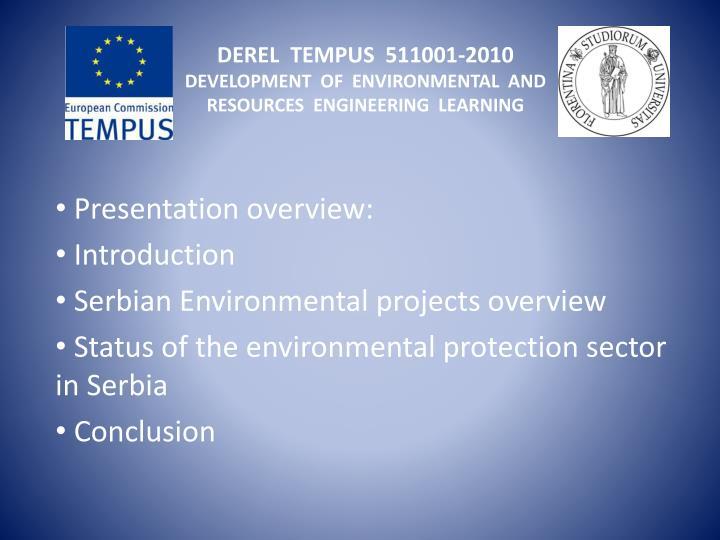 DEREL  TEMPUS  511001-2010