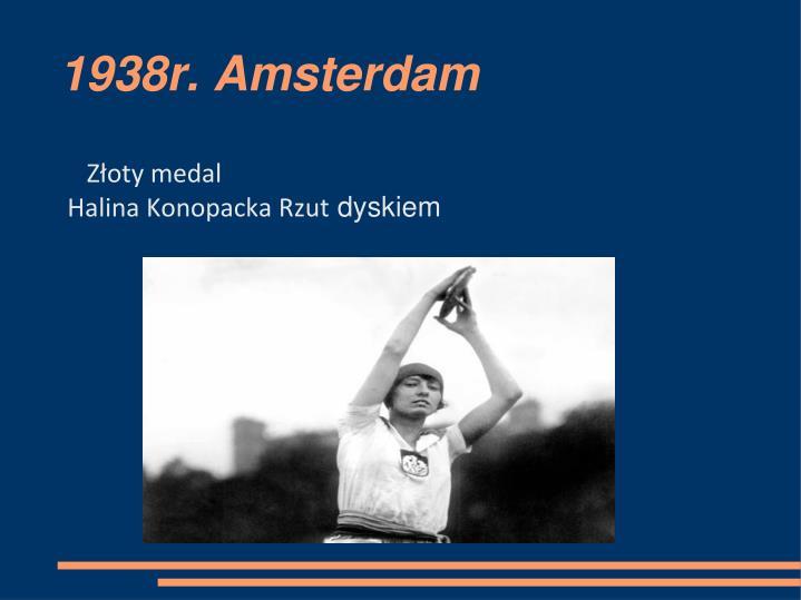 1938r. Amsterdam