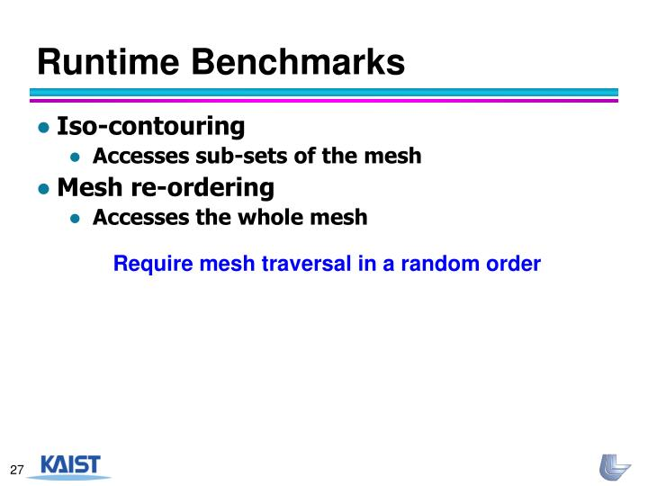 Runtime Benchmarks