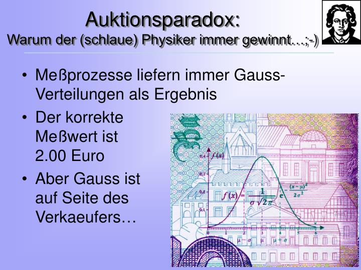 Auktionsparadox: