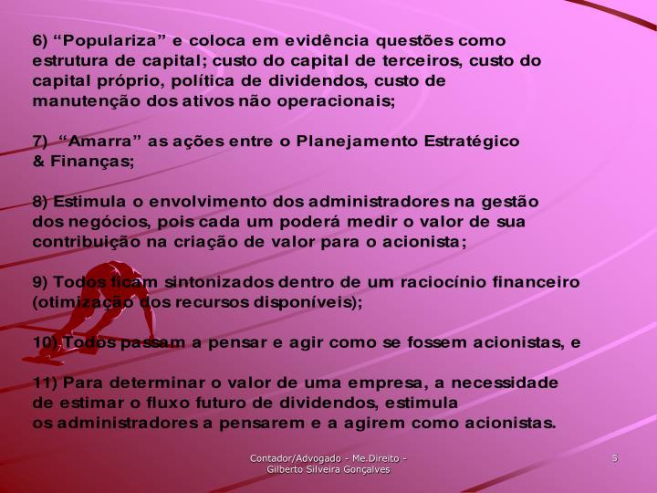 Contador/Advogado - Me.Direito - Gilberto Silveira Gonçalves