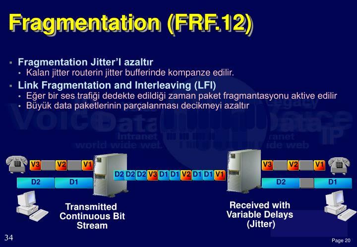 Fragmentation (FRF.12)