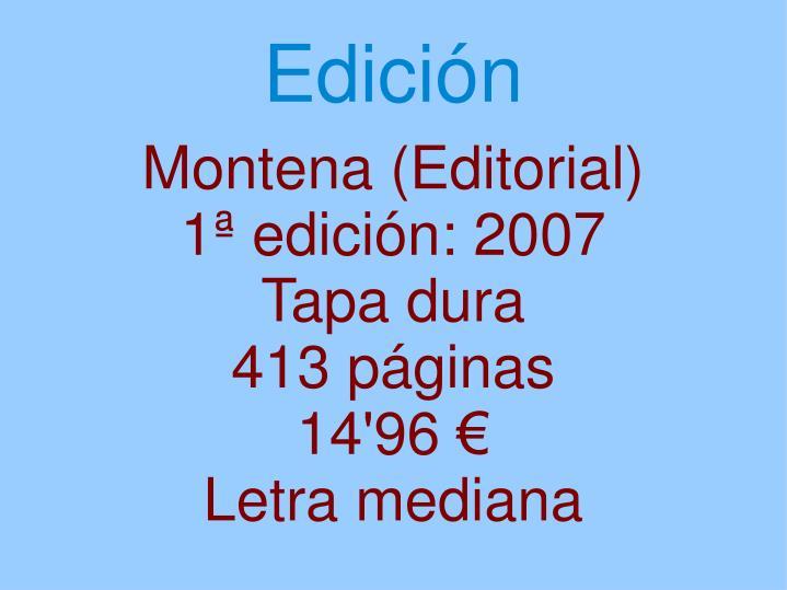 Montena (Editorial)