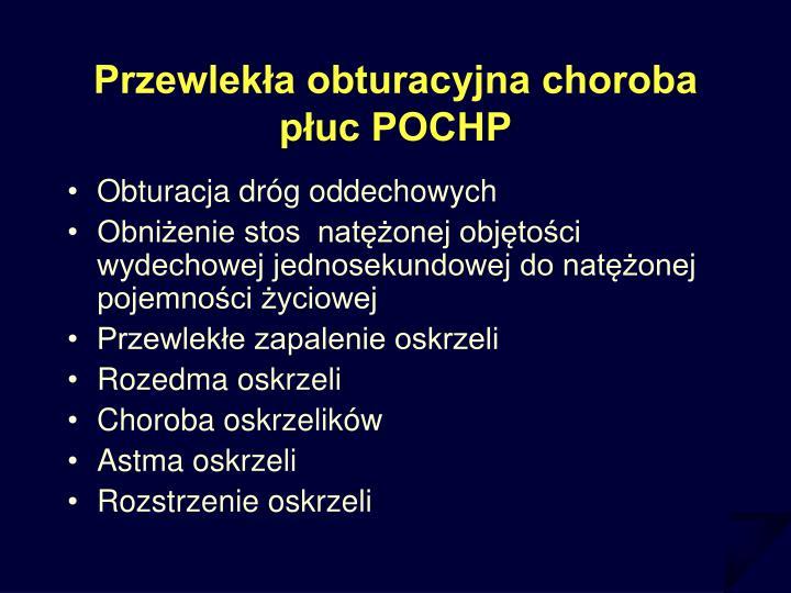 Przewlekła obturacyjna choroba płuc POCHP