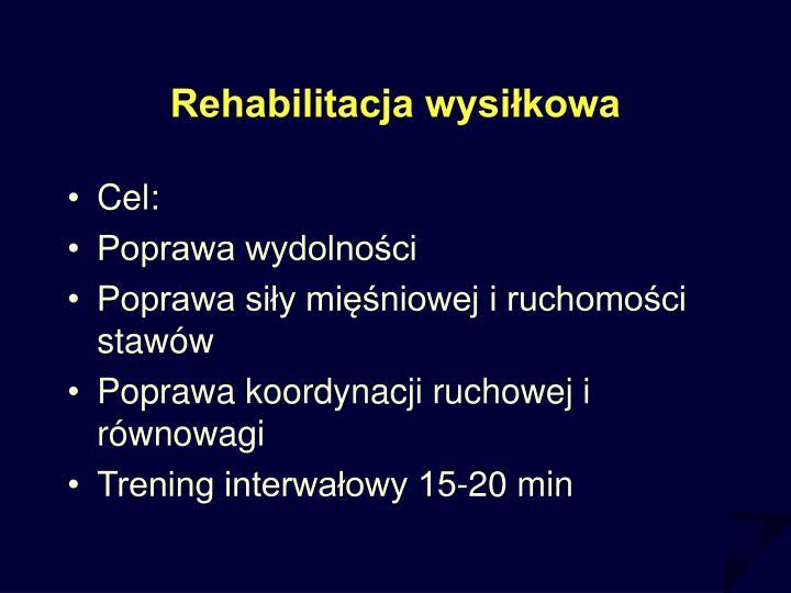 Rehabilitacja wysiłkowa