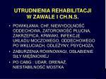 utrudnienia rehabilitacji w zawale i ch n s
