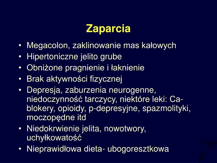 Zaparcia