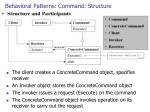 behavioral patterns command structure