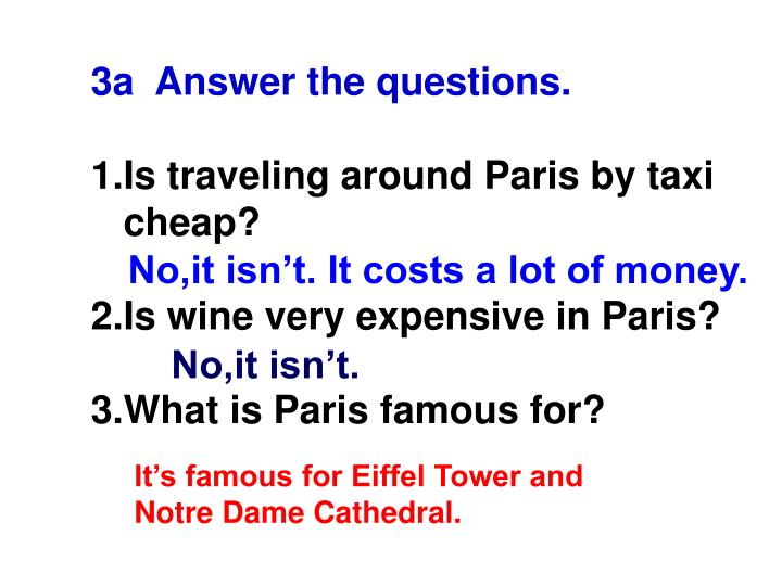 3a  Answer the questions.