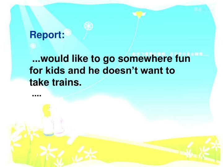 Report: