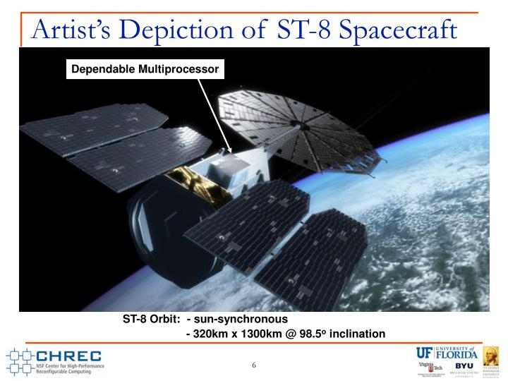 Artist's Depiction of ST-8 Spacecraft