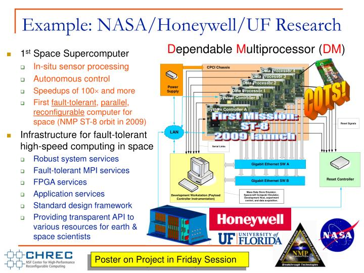 Example: NASA/Honeywell/UF Research