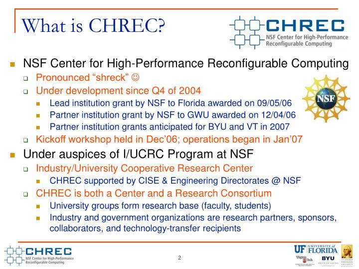 What is CHREC?