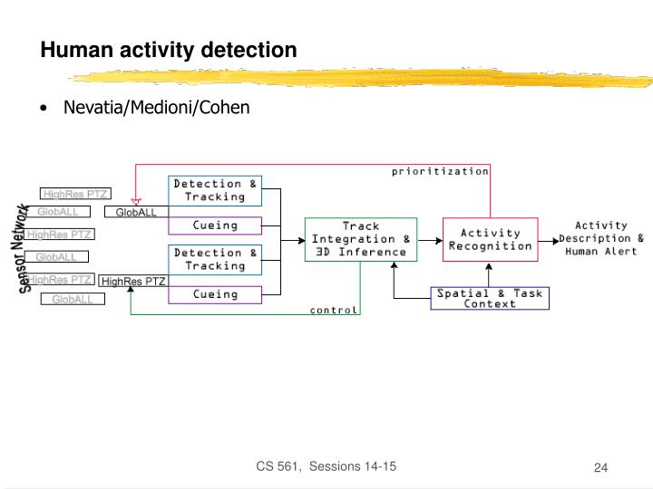 Human activity detection