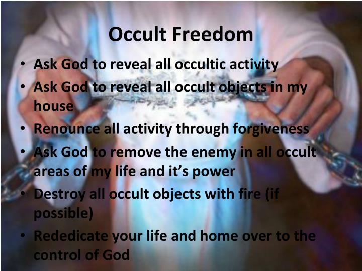 Occult Freedom