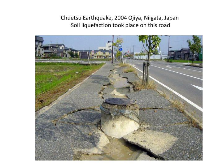 Chuetsu Earthquake, 2004 Ojiya, Niigata, Japan
