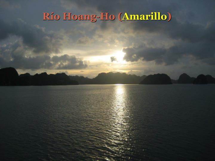 Río Hoang-Ho (