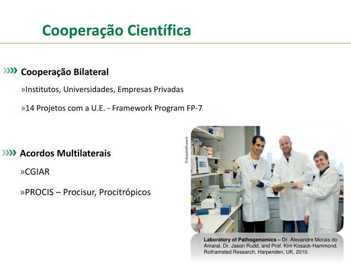 Cooperação Científica