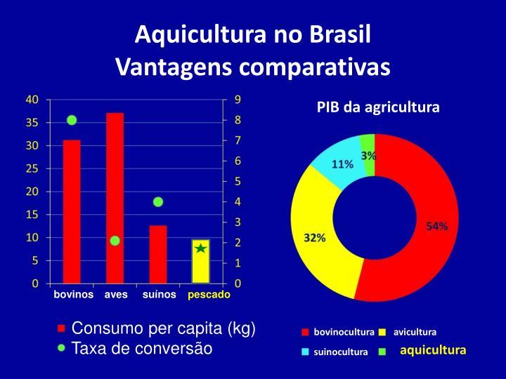 Aquicultura no Brasil