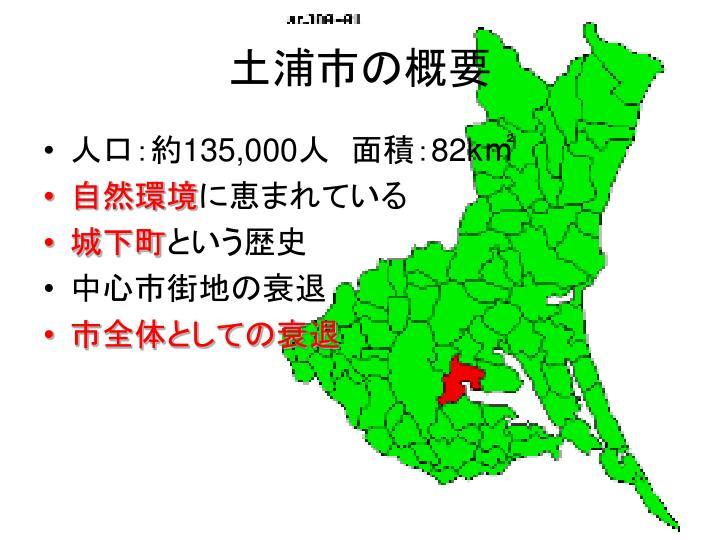 土浦市の概要
