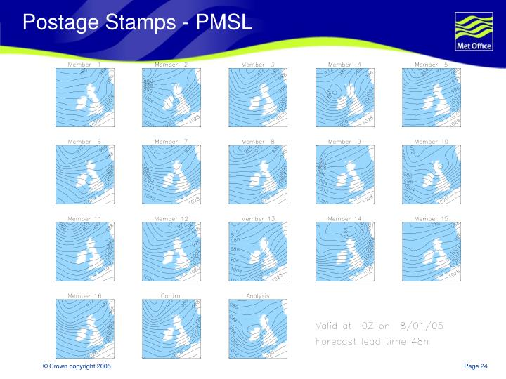 Postage Stamps - PMSL