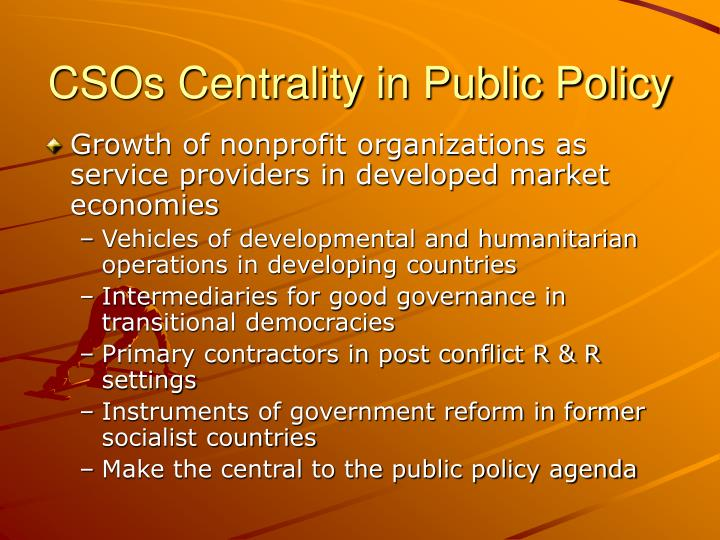 CSOs Centrality in Public Policy
