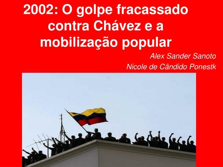2002: O golpe fracassado contra Chávez e a mobilização popular